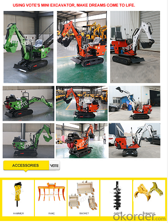 Buy Mini excavator 0 8 ton with hydraulic pump Price,Size,Weight