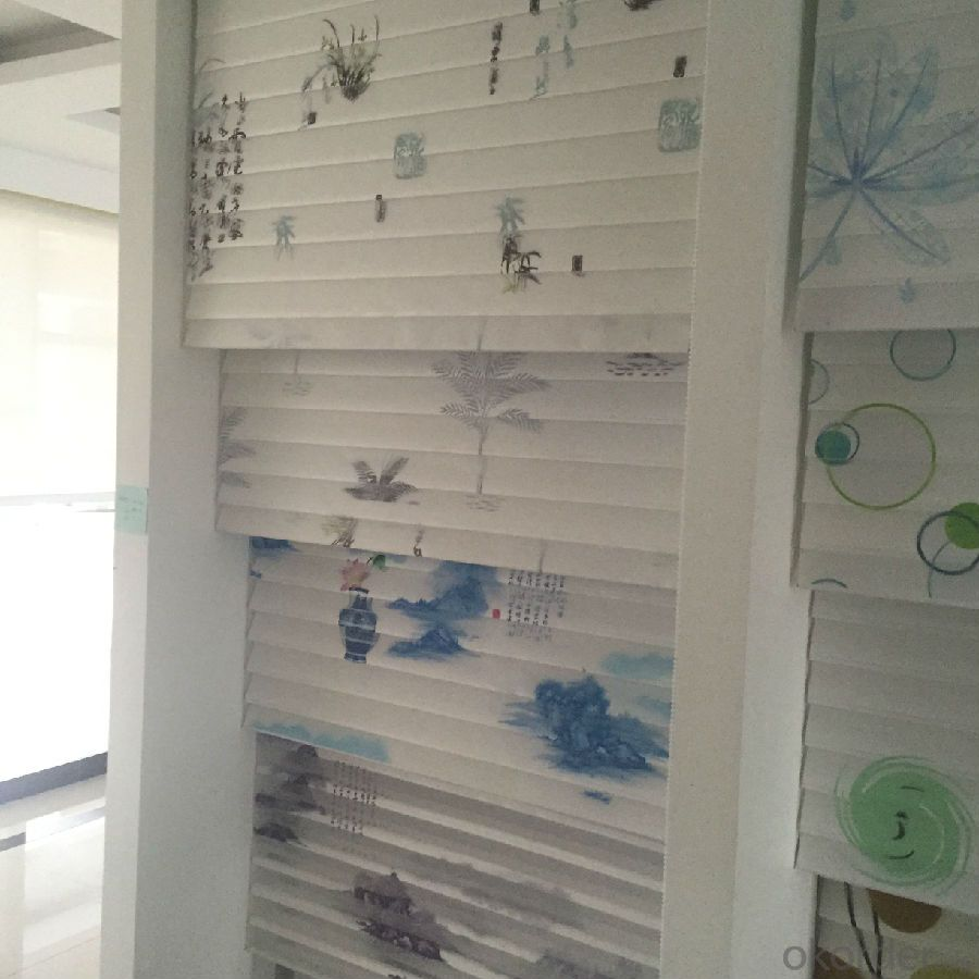 zebra sunblinds with different fashion patterns