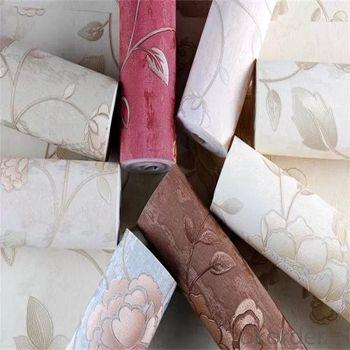 2019 Anti-Bacterial Hotsell pvc Woven Vinyl Chinese Wallpaper