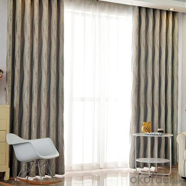 curtain with flexible anti insect PVC strip from manufacture China