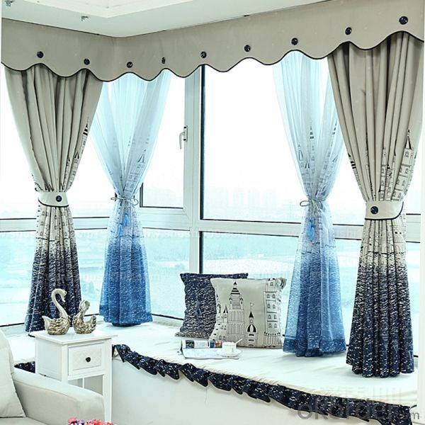 Curtain with Fire retardant Antibacterial Medical cubical mesh