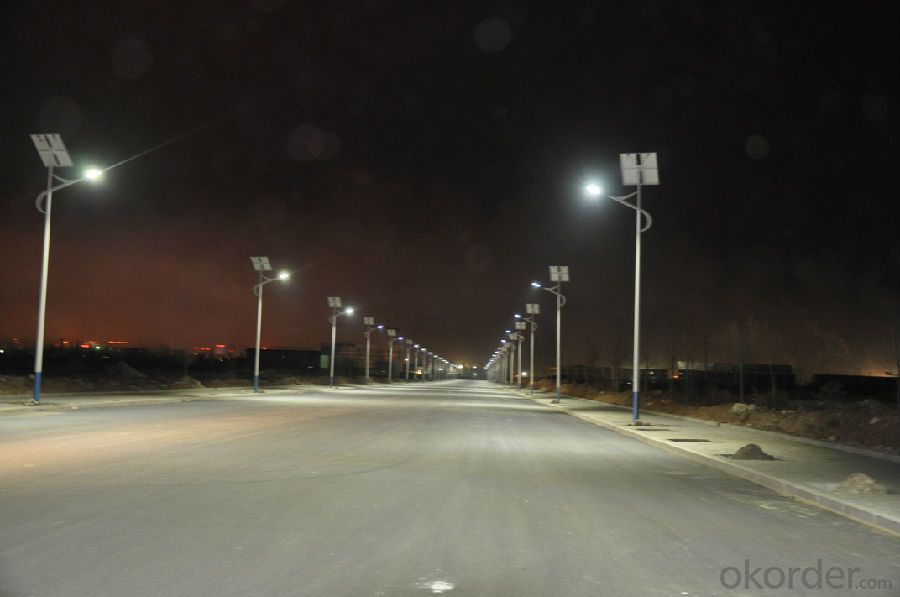 Waterproof IP65  30W Solar Led Street Light