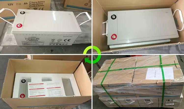 ups battery 12V 24V 48V 200AH 400AH lead-acid battery solar price