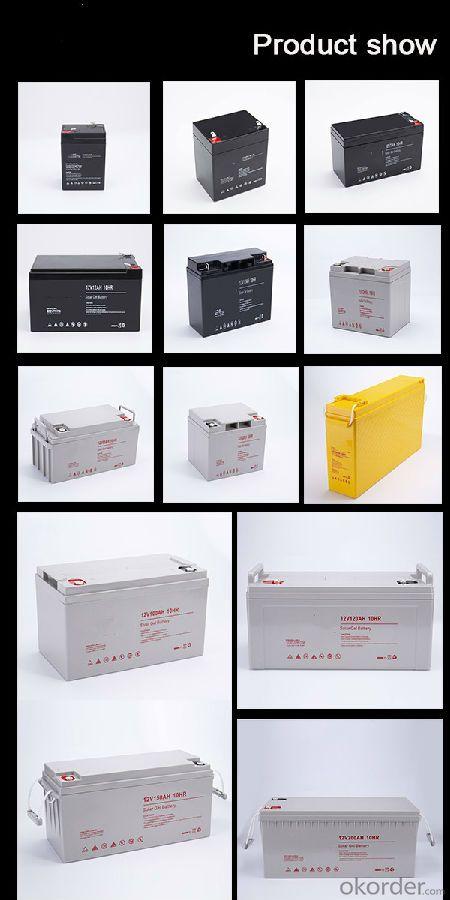 High Capacity 12V 120Ah Lead-acid UPS VRLA GEL Power Storage Solar Battery