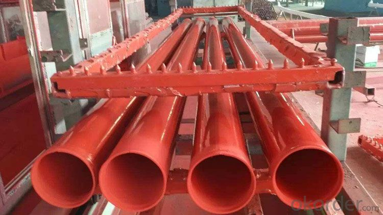 3pe anticorrosive steel tube tpep anticorrosive steel tube 8710 anticorrosive spiral steel tube