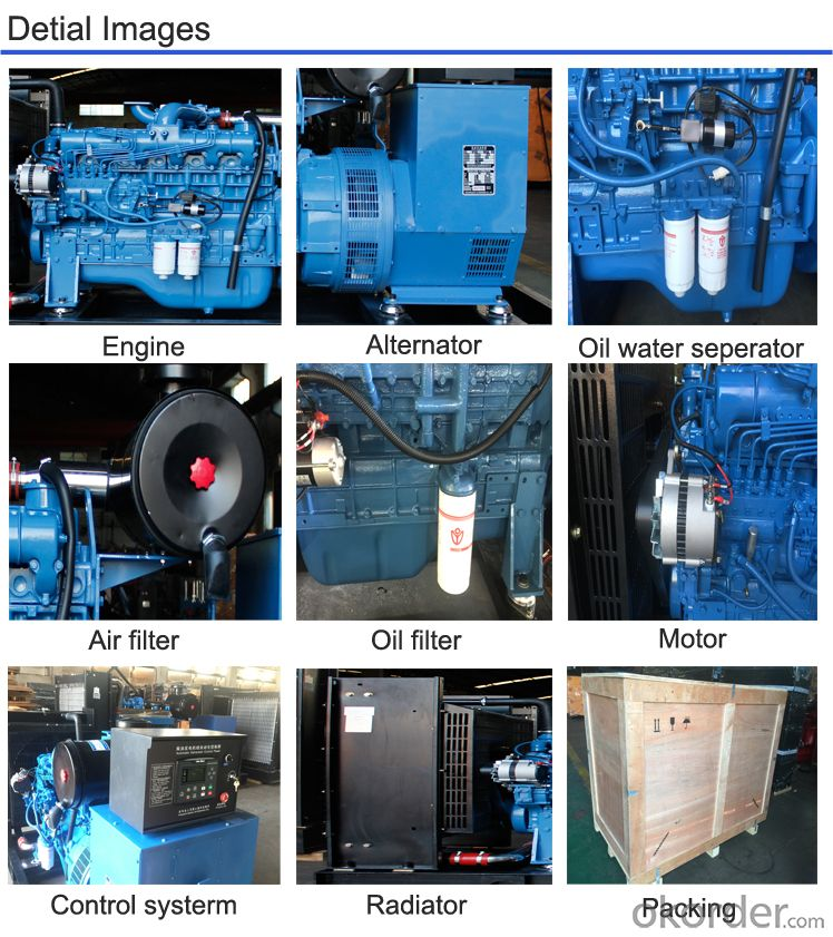Diesel Generator Set Diesel Generator Set Hengda Power Engine