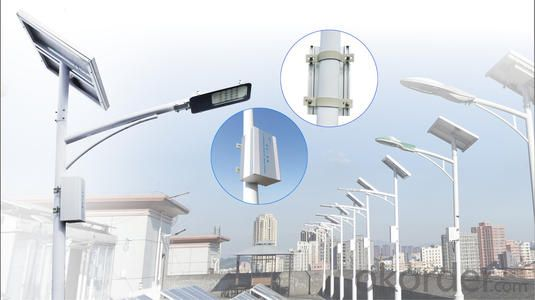 Solar Led Street Light Wholesale 120W with Battery