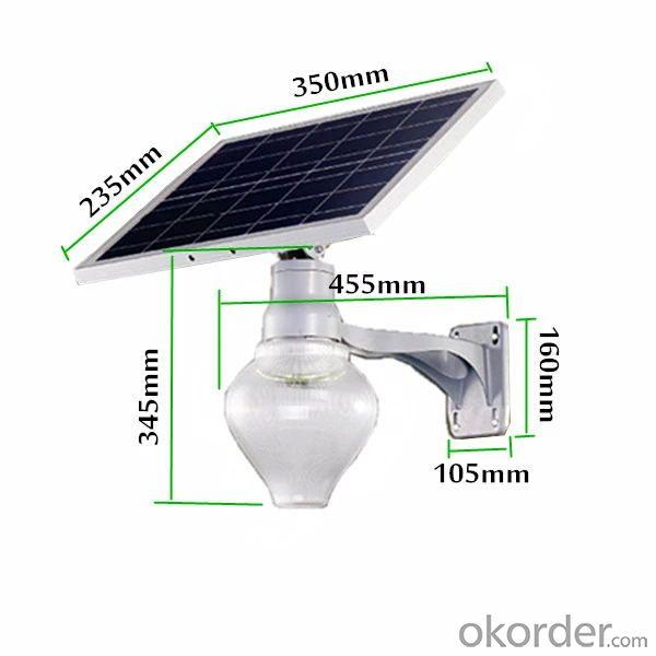Decorative IP65 solar powered led garden lights