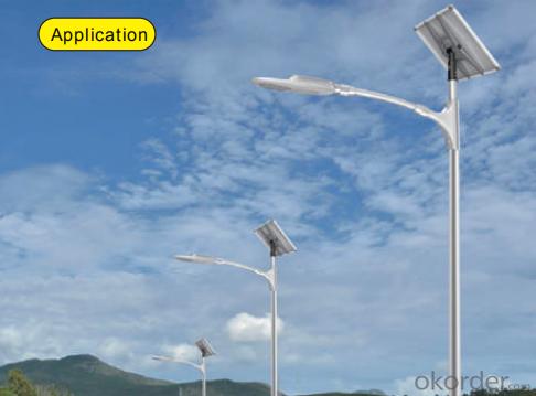 Graphene-based Lithium battery solar street light-LVA4