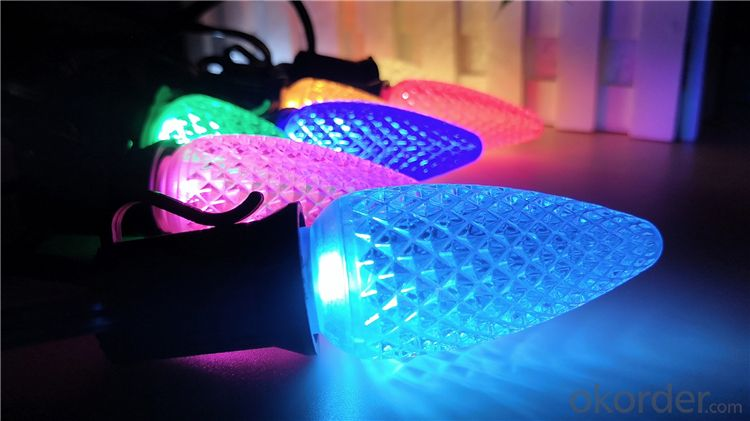 China Manufacturer Export C7 C9 LED Christmas Light Bulb