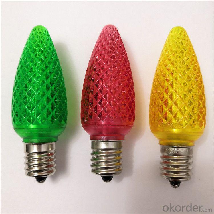 China Factory wholesale C7 C9 Christmas Light Bulb LED SMD