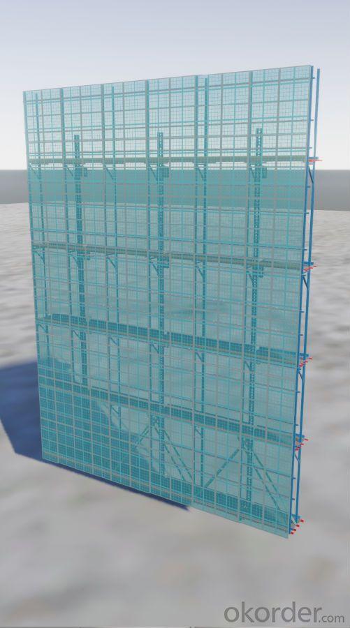 Frame outside elevation rendering