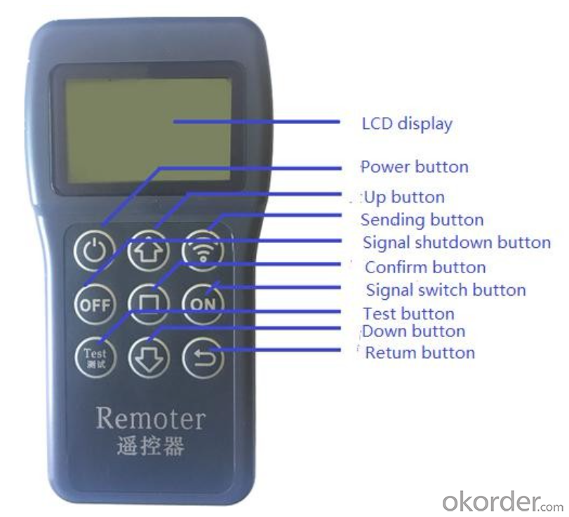 MPPT PVM Wireless Remote controller for solar street light controller