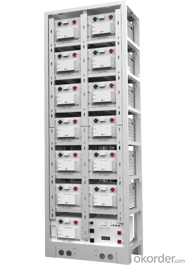 High voltage lithium ion battery bank  for solar system and storage