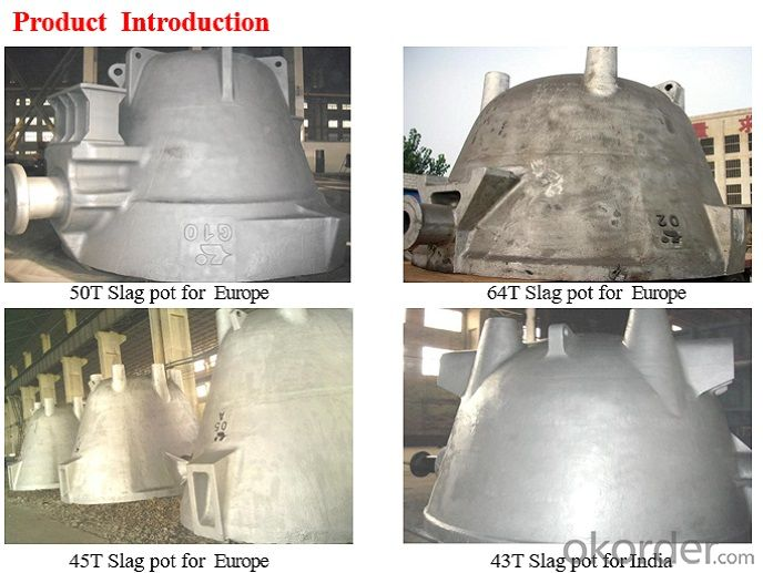 Slag Pot with Good Quality Hot Sale for Steel Mill