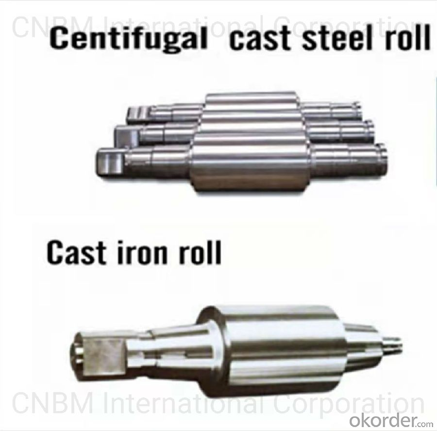 Graphitic Steel Roll With High Wear Resistance and High Performance