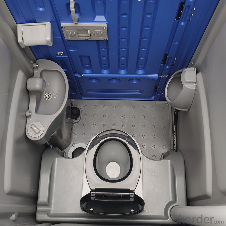 HDPE Seated Portable Toilet- Outdoor Plastic Mobile Toilet