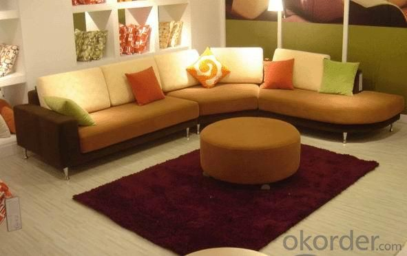 Buy 2012 New Design Warm Colorful Corner Sofa Set With