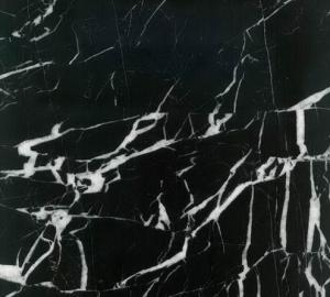 Marble Tiles Black and White M006