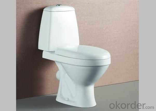 Hot Bathroom Ceramic Toilet WC Good Quality Good Price Best Selling Modle 218 Two Piece