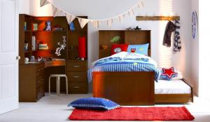 Sports Kids Bedroom Set