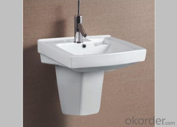 0518 Pedestal Washbasin