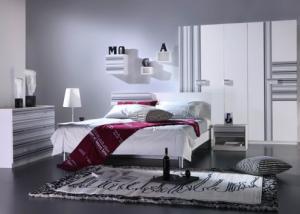 king bed Modern Bedroom Furniture Set