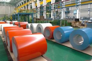High Quality Prepainted Galvanized Steel - Red