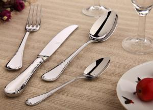Simple And Delicate Stainless Steel Cutlery Set