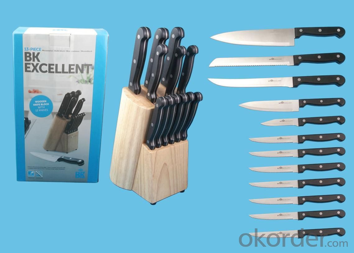High-quality Stainless Steel Hollow Handle Knife Set