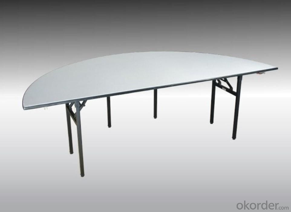 Semi Round Dining Table 48 96 Real Time Quotes Last Sale Prices Okorder Com