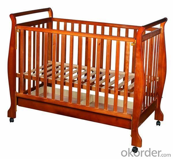 Wooden Baby Cribs H0679
