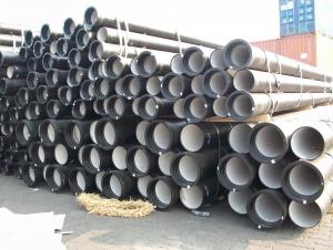Push On Joint T Type Ductile Cast Iron Pipe K9