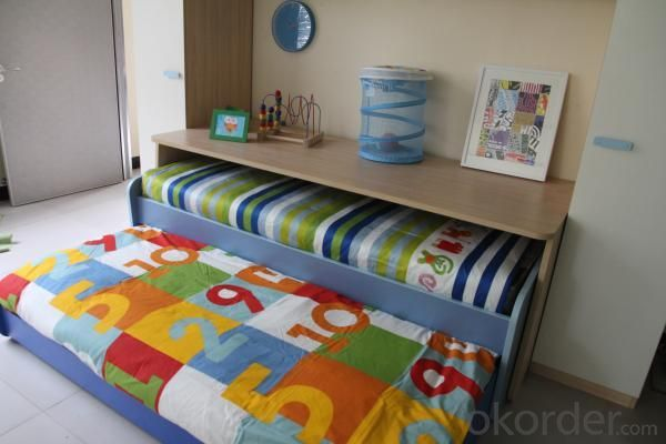 Sliding Desk Kids Bedroom Set