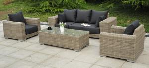 Aluminium Rattan Sofa Set-04