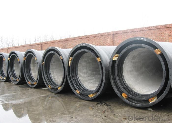 Buy Iso2531 Socket Spigot Ductile Iron Pipe K8 Price Size