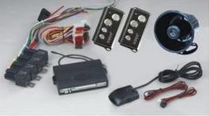 Remote Arming/Disarming Car Alarm 1884 with Automatic Door Lock/Unlock