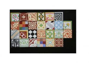 Handmade Encaustic Cement Floor Tile
