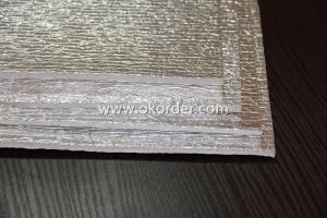 EPE Foam Laminated MPET/PE Weaving Fabric
