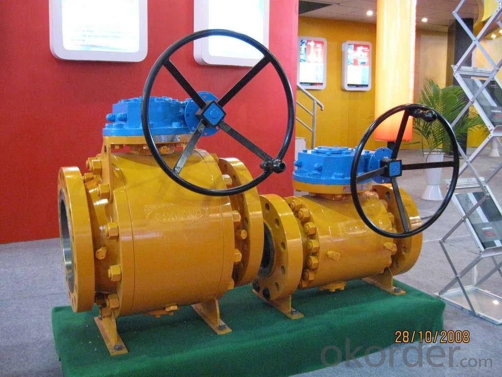 Flange Ball Valve for Oil, Gas ,Water ,Acid