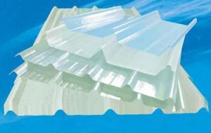 FRP Roofing Sheet of Chemical Resistance Translucent