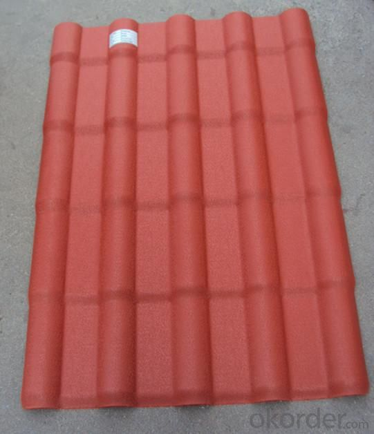 Synthetic Resin Royal Roof Tile of Flame Retardant