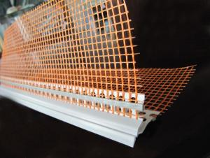 PVC Corner Bead With Fiberglass Screen Wire Mesh