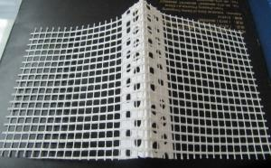 PVC Corner Bead With Fiberglass Screen Mesh