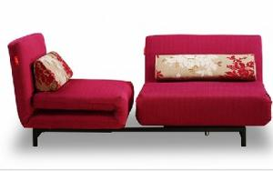 Rose Color Functional Sofabed