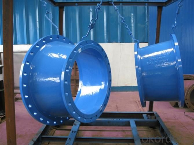 ISO2531 Ductile Iron Double Flanged Taper Made In China