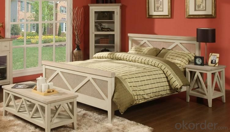 Wooden Bedroom Furniture Set KFD069