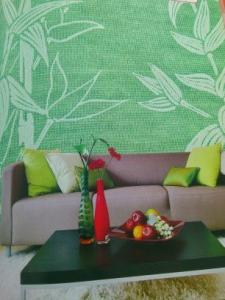 Foam Fiberglass Wallcovering Cloth-G1108