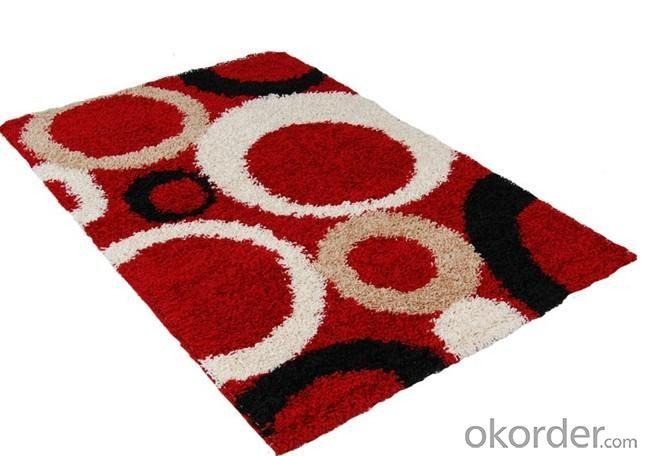 Polyester Shaggy Handmade Carpet