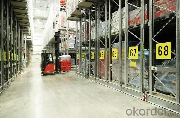Moving Pallet Racking System